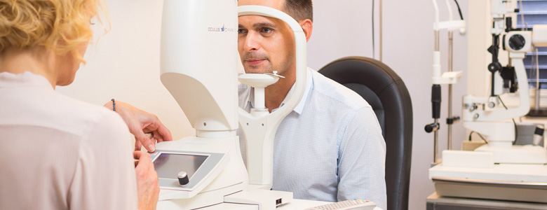 Augenuntersuchung Augen-OP Operation Augen Wien