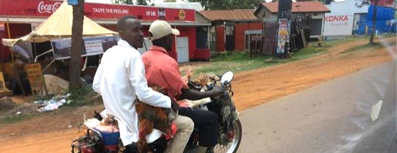 Uganda Motorrad